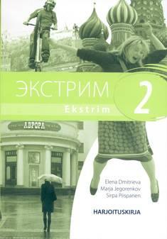 Ekstrim 2 Lukion A-venäjän oppikirjasarja Harjoituskirja