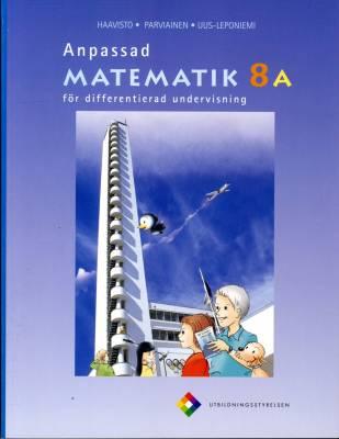 Anpassad matematik 8 A