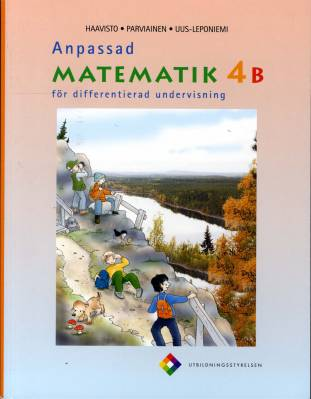 Anpassad matematik 4 B