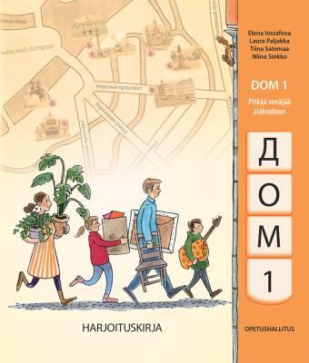 Dom 1 Pitkää venäjää alakouluun Harjoituskirja