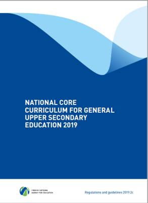 National Core Curriculum for General Upper Secondary Education 2019